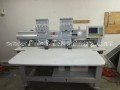 Aemco 9 Needle 2 Head Commercial Embroidery Machine